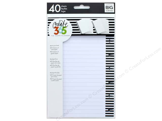 Me&My Big Ideas Create 365 Happy Planner Filler Paper Mini Note