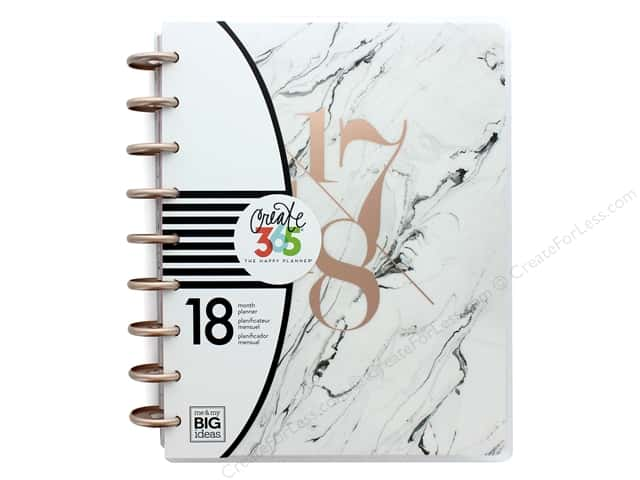 Me & My Big Ideas Create 365 The Happy Planner - Classic Modern Marble