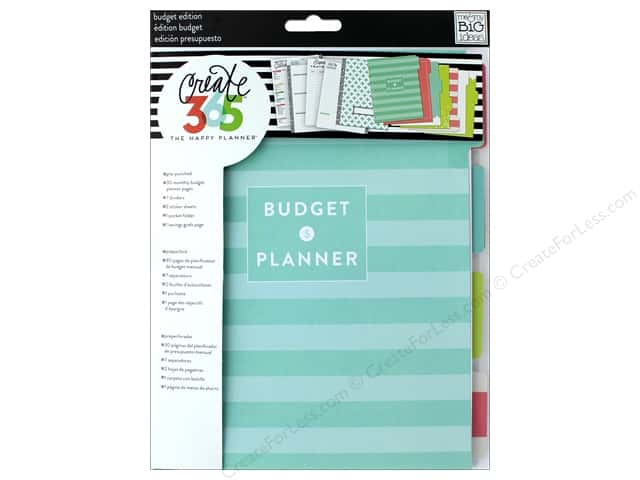Me&My Big Ideas Create 365 Happy Planner Budget Extension Medium