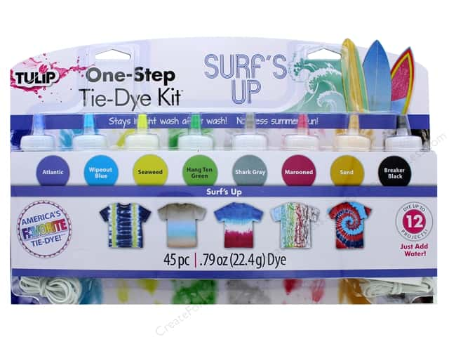 Tulip One Step Dye Kit 8 Color Mini Surf's Up