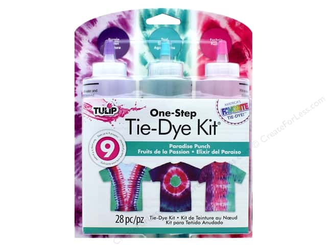 Tulip One Step Dye Kit 3 Color Paradise Punch