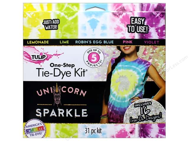 Tulip One Step Dye Kit 5 Color Mini Unicorn