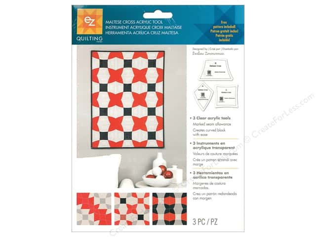 EZ Acrylic Tool Maltese Cross