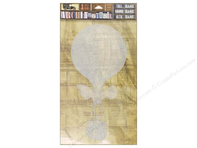 7 Gypsies Collection Architextures Tall Base Hot Air Balloon