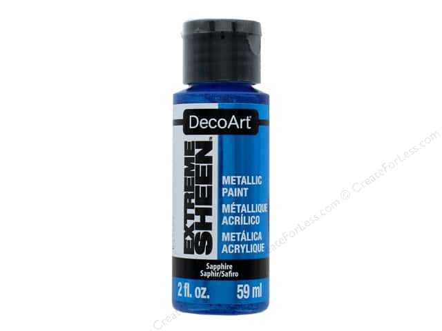 Decoart Extreme Sheen Metallic Paint 2 oz. Sapphire