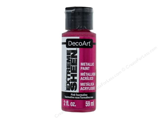 Decoart Extreme Sheen Metallic Paint 2 oz. Pink Tourmaline