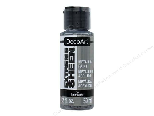 Decoart Extreme Sheen Metallic Paint 2 oz. Tin