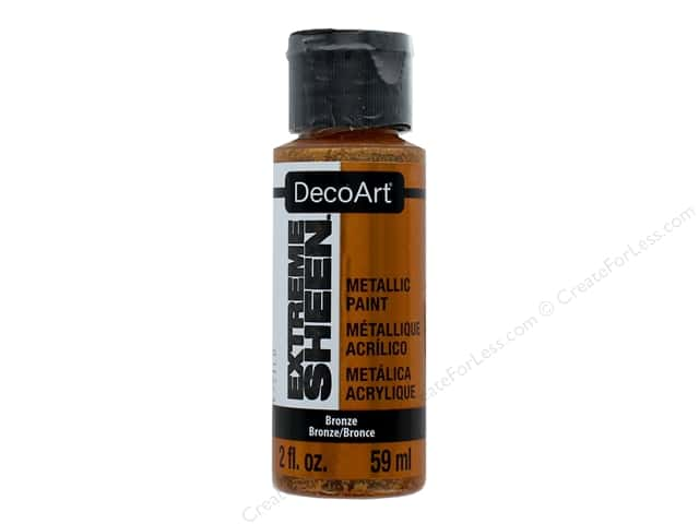 Decoart Extreme Sheen Metallic Paint 2 oz. Bronze