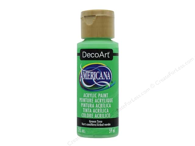 DecoArt Americana Acrylic Paint 2 oz. #349 Green Tree