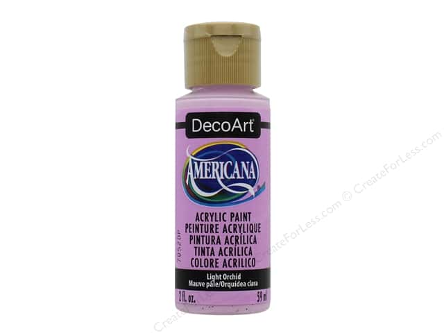 DecoArt Americana Acrylic Paint 2 oz. #352 Light Orchid