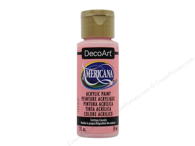 DecoArt Americana Acrylic Paint 2 oz. #347 Cotton Candy