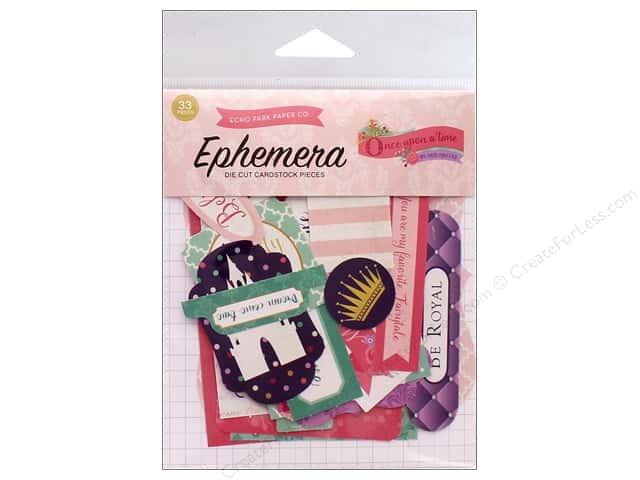 Echo Park Collection Once Upon A Time Ephemera Princess