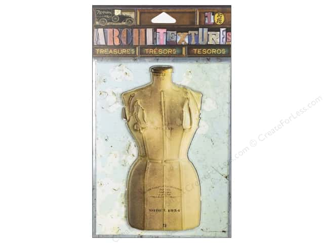 7 Gypsies Collection Architextures Treasures Dress Form Model 1954