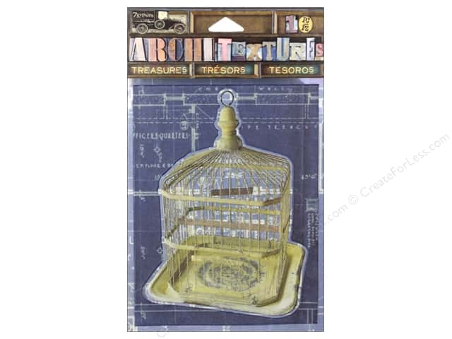 7 Gypsies Collection Architextures Treasures Metal Birdcage