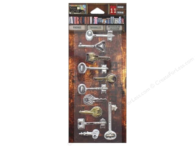 7 Gypsies Collection Architextures Findings Vintage Keys