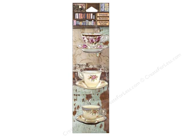 7 Gypsies Collection Architextures Trinkets China Tea Cups