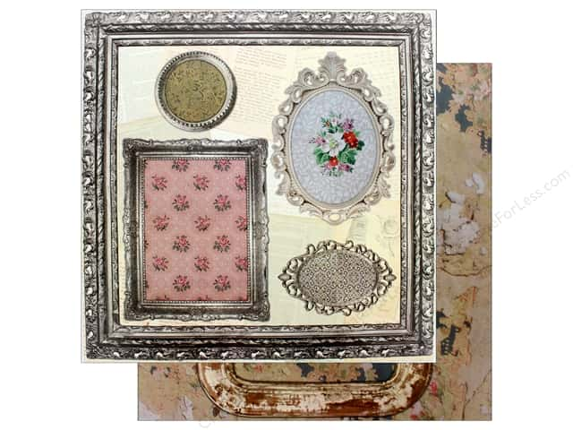 "7 Gypsies Collection Architextures Paper 12""x 12"" Ornate Frames (15 pieces)"