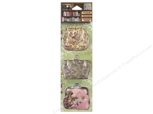 7 Gypsies Collection Architextures Trinkets Floral Pocketbook