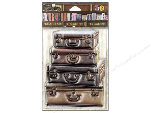 7 Gypsies Collection Architextures Treasures Stacked Suitcases