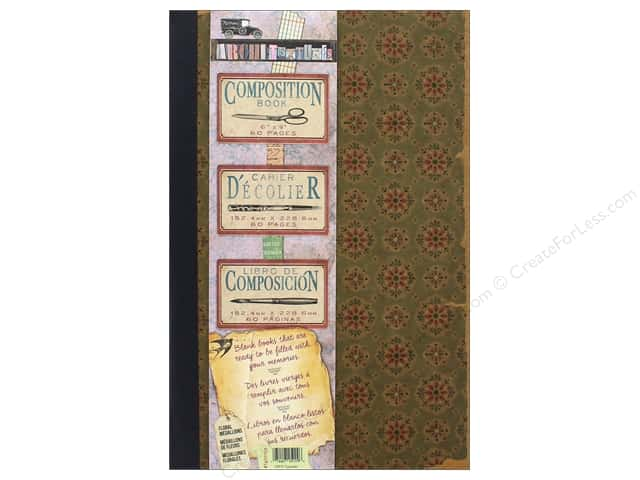 7 Gypsies Collection Architextures Composition Book Floral Medallion