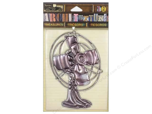 7 Gypsies Collection Architextures Treasures Metal Fan
