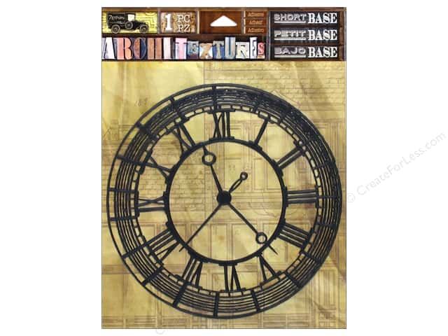 7 Gypsies Collection Architextures Short Base Clock