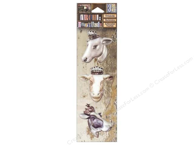 7 Gypsies Collection Architextures Trinkets Bovine Beauties