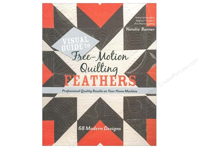 Stash By C&T Free Motion Quilting Feathers Book