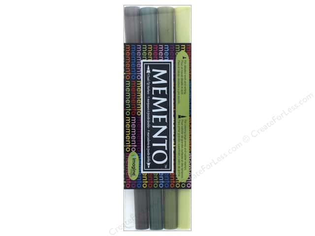 Tsukineko Memento Ink Marker Central Park Set Of 4