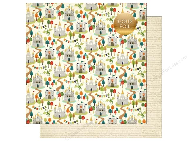 """Echo Park Collection Once Upon A Time Prince Paper 12""""x 12"""" Royal Kingdom (25 pieces)"""