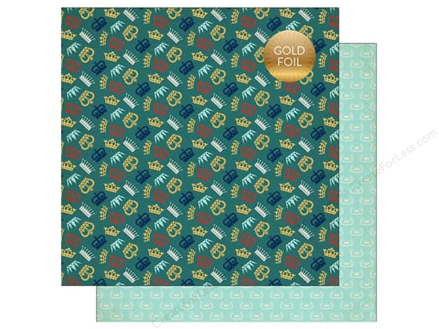 """Echo Park Collection Once Upon A Time Prince Paper 12""""x 12"""" Prince Charming (25 pieces)"""