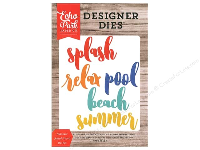 Echo Park Die Summer Splash