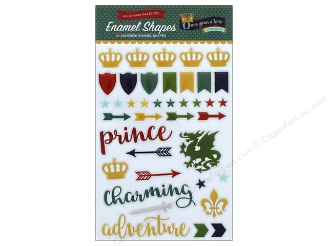 Echo Park Collection Once Upon A Time Prince Enamel Shapes