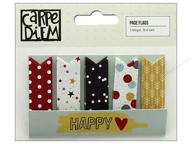 Simple Stories Collection Say Cheese III Carpe Diem Page Flags