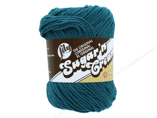 Sugar 'n Cream Yarn 120 yd. Teal