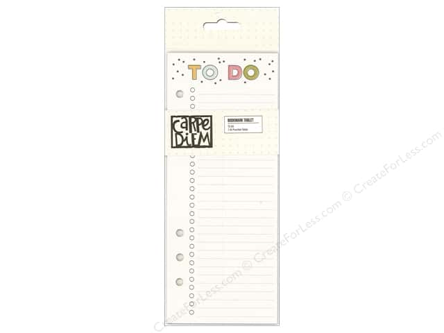 Simple Stories Collection Carpe Diem Bookmark Tablet To Do