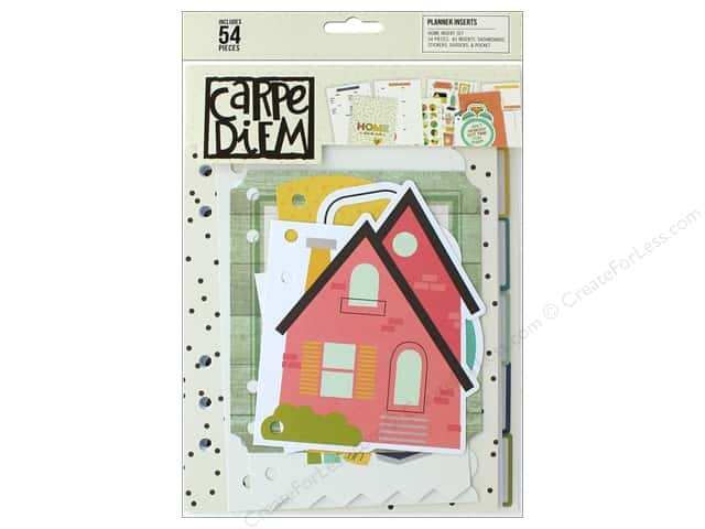Simple Stories Collection Carpe Diem Planner Insert Home
