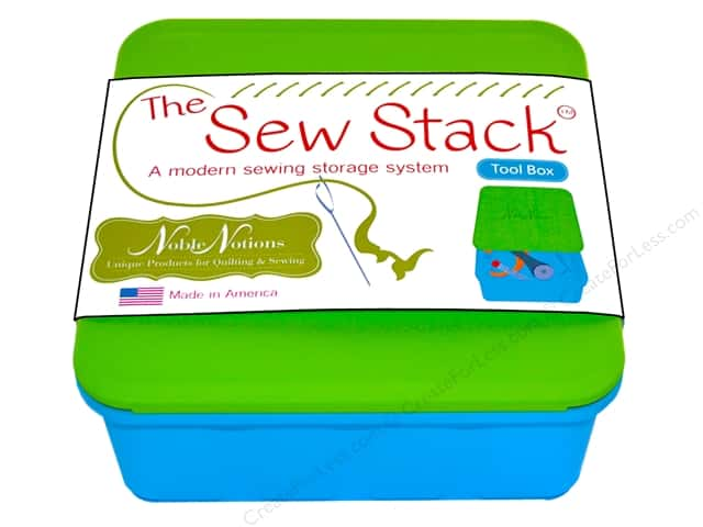 Noble Notions Quilter's Notions The Sew Stack Tool Box
