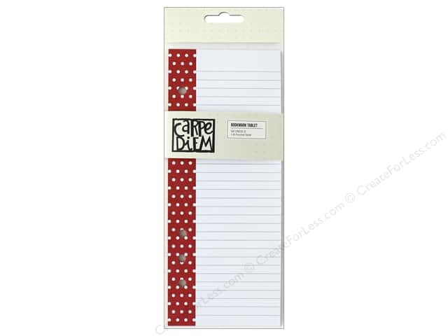 Simple Stories Collection Say Cheese III Carpe Diem Bookmark Tablet