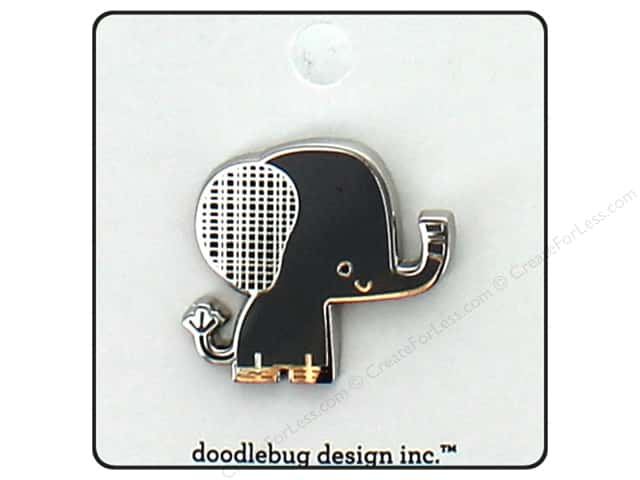 Doodlebug Collection At The Zoo Enamel Pin Ellie