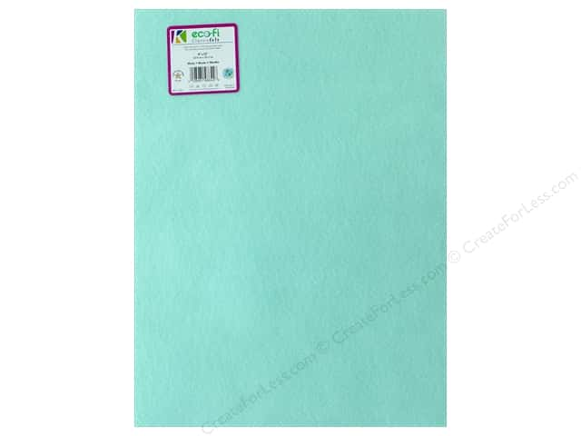 Kunin Felt 9 x 12 in. Minty (24 pieces)