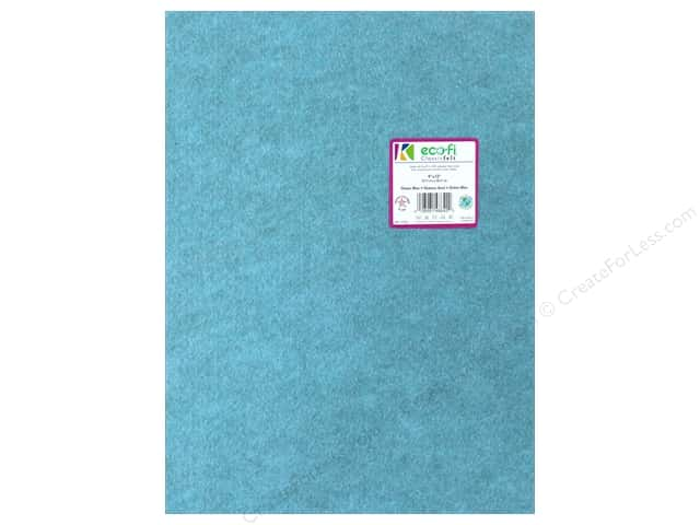 Kunin Felt 9 x 12 in. Ocean Blue (24 pieces)