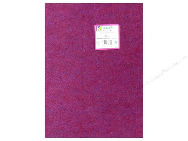 Kunin Felt 9 x 12 in. Prickly Purple (24 pieces)
