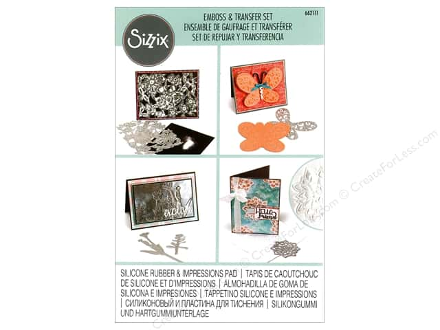 Sizzix Accessories Emboss & Transfer Set