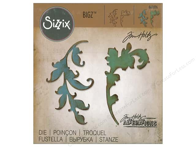 Sizzix Dies Tim Holtz Bigz Scroll