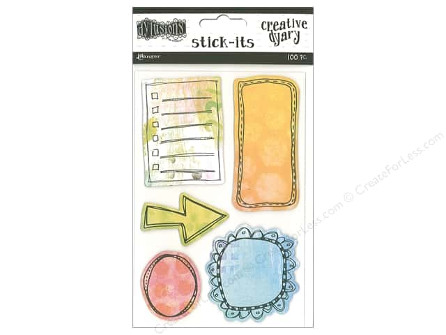 Ranger Dylusions Creative Dyary Stick-Its