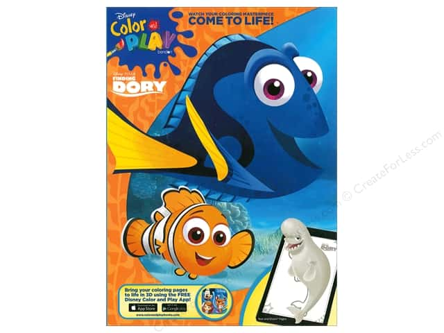 Bendon Color & Play Book Disney Finding Dory 2