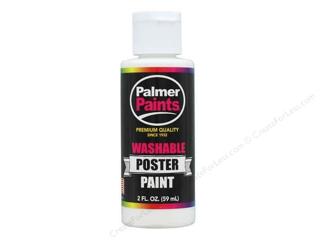 Palmer Washable Poster Paint 2 oz. White