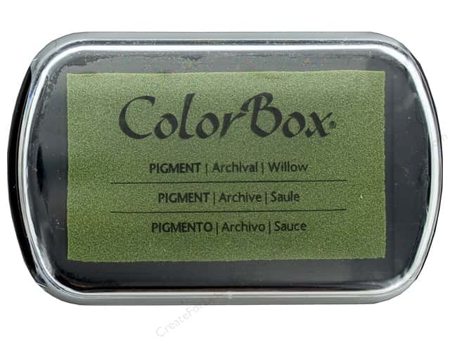 Colorbox Full Size Pigment Inkpad Metallic Willow