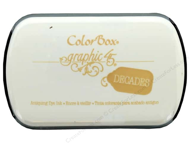 ColorBox Graphic 45 Decades Inkpad Venetian Lace